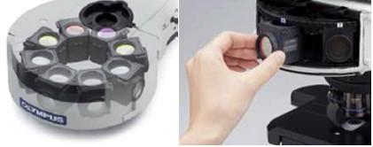 奥林巴斯显微镜BX43荧光配件